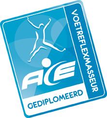 Logo ACE gediplomeerd voetreflexmasseur web